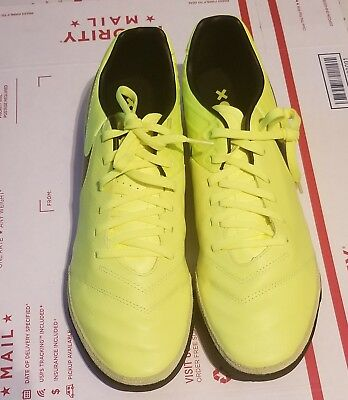 2852e283538 Nike TiempoX Mystic V TF Mens Size 11.5 Indoor Soccer Turf Shoes 819224-707