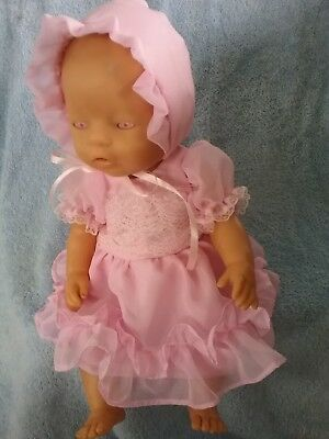 HANDMADE DOLLS CLOTHES FOR ZAPH BABY BORN  17inch