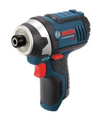 "BOSCH - 12V Volt MAX Cordless Lithium Ion 1/4"" Variable Speed Impact Driver PS41"