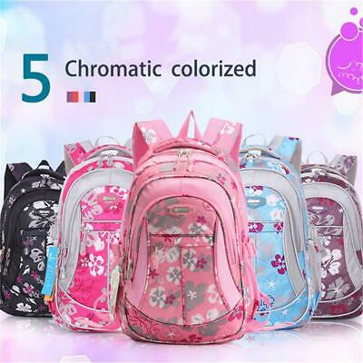 AU!! School Backpack Bags for Primary Girls Students Rucksack Children Polyester
