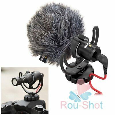 Rode VideoMicro Compact On-Camera Microphone for Canon Nikon Sony iPhone Samsung