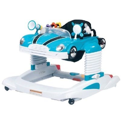 Steelcraft Beepa 4 in 1 Baby Walker Activity Centre Turquoise