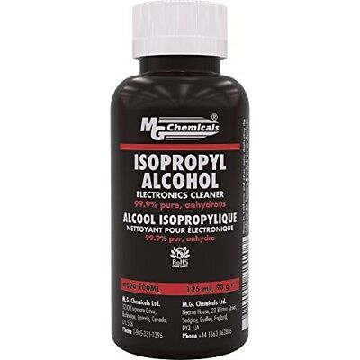 MG Chemicals 99.9% Isopropyl Alcohol Liquid Cleaner, 125 mL Bottle