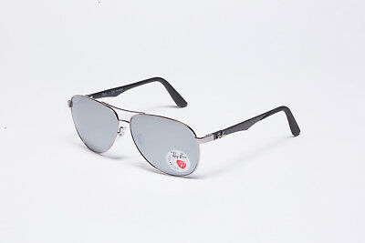 2066336d8a1 NEW RAY BAN RB8313-6K Tech Sunglasses Polarized Mirror 61mm 100%UV From  Italy