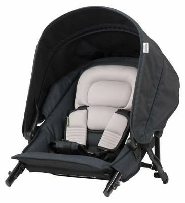 Steelcraft Strider Second Seat -Black Linen