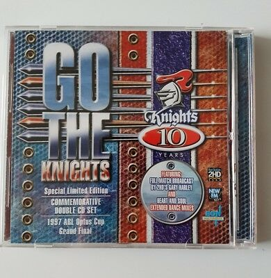 Newcastle Knights  . Go The Knights . Limited Edition Double Cd