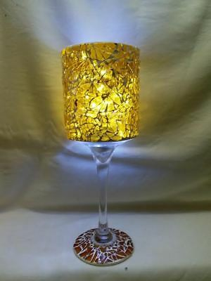 Glass Mosaic Tiled lamp .Candle Holder,Light
