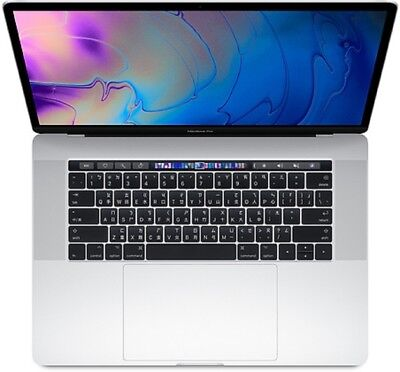 "Apple Macbook Pro 15"" 2018 512GB+16GB 2.6GHz i7 (US Keyboard Touch Bar) Argento"