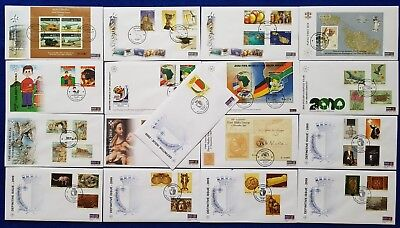 2009/2010 Malta FDC First Day Covers Consecutive inc. definitive & SHC - CV £95+