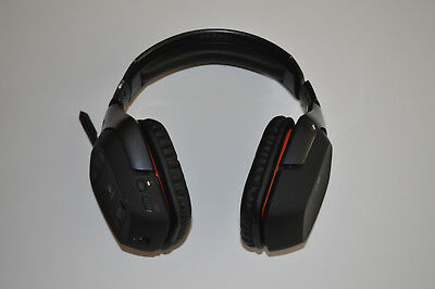 Logitech G930 wireless gaming headset without USB RECEIVER!!! Only Headphones!!!