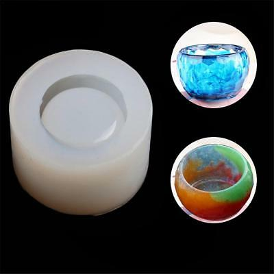 Silicone Crystal Epoxy UV Resin Mould Bowl Dish Shape Hand-made DIY Mould New
