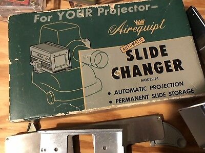 Airequipt Model P1  Slide Changer  with Original Box plus paperwork and pieces