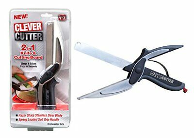 Innovations Clever Cutter 2-in-1 Food Chopper - Replace your Kitchen Knives