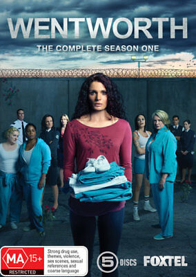 Wentworth: Season 1 - DVD (NEW & SEALED)