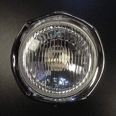 Head light / front lamp with rim, lens, bowl & connect for Lambretta SX series 3