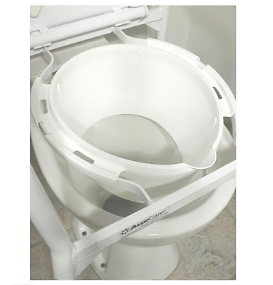 Splash Guard for Folding Over Toilet Aid - Elderly Disabled Toilet Aid