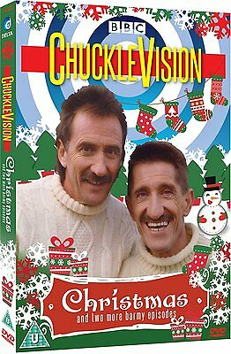 Chucklevision Christmas & 2 More Barmy Episodes New Dvd Chuckle Brothers