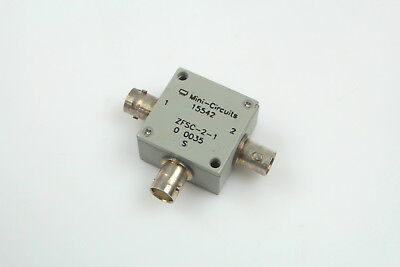 Mini-Circuits ZFSC-2-1 Power Splitter/Combiner BNC 2-Way, 5-500MHz, 50 Ohm