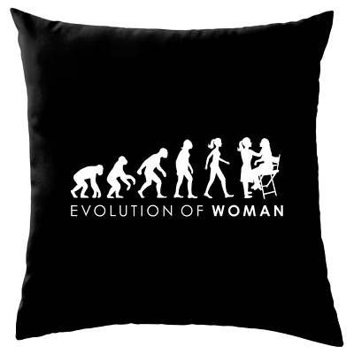 Evolution of Woman - Make-Up Artistin - Sofa/ Dekokissen Visagist Theater Maske