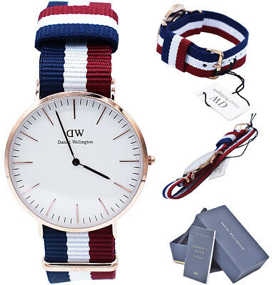 c3ff5385c55ca Daniel Wellington Watch Men Classic Cambridge DW00100003 Multi Color 40MM  0103DW