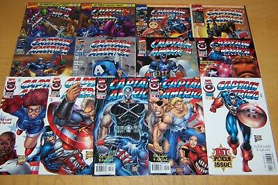 Marvel Comics Captain America Vol2 1-13 Full Set Loeb Liefeld 1996/97