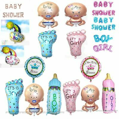 BABY SHOWER Mummy to Be Party Decoration Girl Boy Birthday Balloons Photo Props