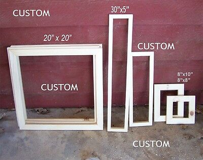 WITUSE Wood Stretcher Bars Painting Canvas Wooden Frame for Gallery Wrap Oil Painting,Stretcher Bars DIY,Canvas Mounting Frames,Needlepoint Arts 14x16