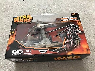 Star Wars Episode 3 Kohl's Exclusive Wookie Helicopter With Wookie