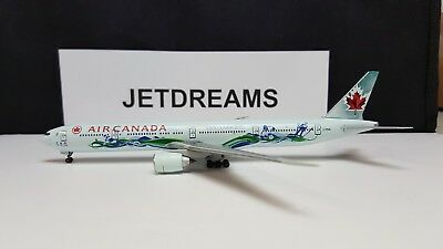 1/400 Air Canada Boeing 777-300 C-Fivs 10's Vancouver Olympics Clrs Dragon Wings