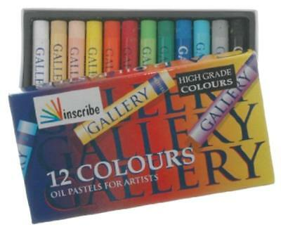 Inscribe - 12 Oil Pastels for Artists
