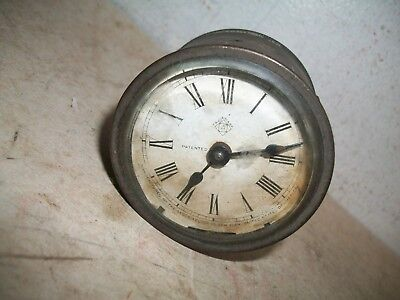 Antique victorian american ansonia clock co april 23rd 1878 clock For base