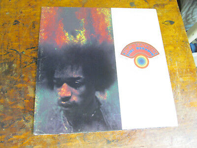 JIMI HENDRIX Electric Church PROGRAM GUIDE picture book original