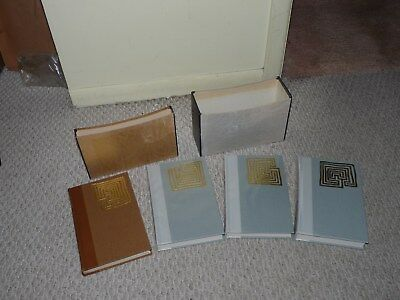 The Lord of the Rings Books & Hobbit Folio Society Book 1977 Hardly Used Con.