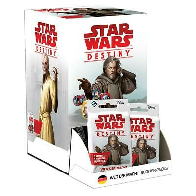 Star Wars Destiny - Weg der Macht Booster Display - Deutsch