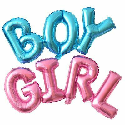 BABY SHOWER Foil Ballon Baby Boy Baby Girl Party Decorations Pink Blue Birthday