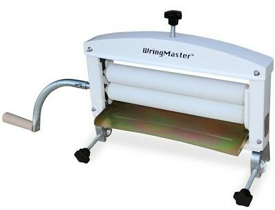 """WringMaster Clothes Wringer Hand Crank - Extra wide 14"""" for Home Laundry Rollers"""