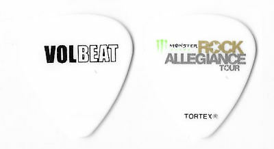 Volbeat color/white tour guitar pick