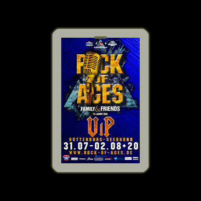 DELUXE VIP Paket inkl. Pass für das ROCK OF AGES Sommer Open Air 2019 - 3 Tage