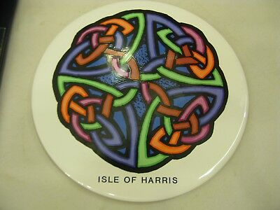 Vintage Scottish Ceramic Trivet/Pot Stand Luckenbooth Collection Isle of Harris