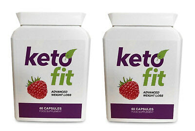 KETO FIT ADVANCED WEIGHT LOSS (2X 60 Capsules) FREE SHIPPING WORLDWIDE