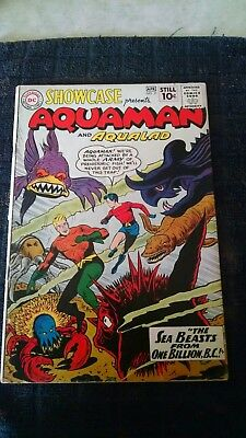 Showcase #31,#34, 2nd Aquaman,1st Atom