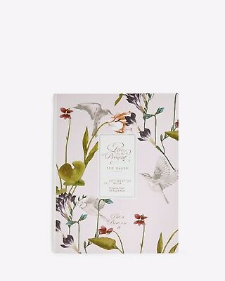 Ted Baker Giftwrap Book - Oriental Bloom