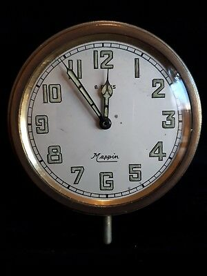 Antique travel clock for restoration or spares Mappin 8 Days