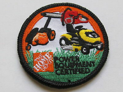 home depot collectibles power equipment certified patch