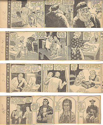 GASOLINE ALLEY - 1945 - 177 Large Size Daily Strips