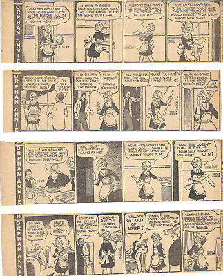LITTLE ORPHAN ANNIE - 1945 - 176 Large Size Daily Strips