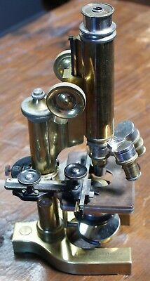 Antique Bausch & Lomb Optical Co. 1901 Continental Microscope