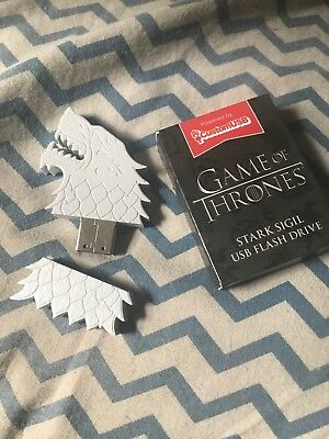 Game of Thrones House Stark Sigil Wolf USB Flash Drive Loot Crate 4GB