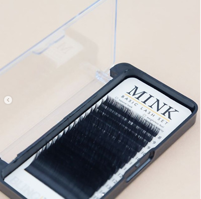 Blinglash Mink Basic Eyelash Extension Kit All Size Individual Mink Lashes
