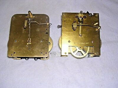 Clock  Parts ,  2 Clock Movements
